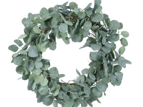 Eucalyptus Spray Wreath 24""