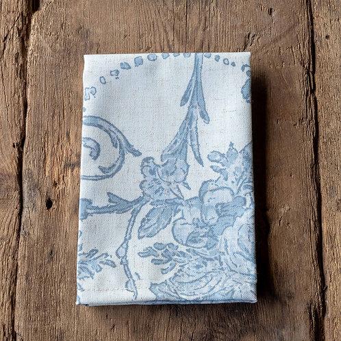 French Quarter Blue Cloth Napkin S/4