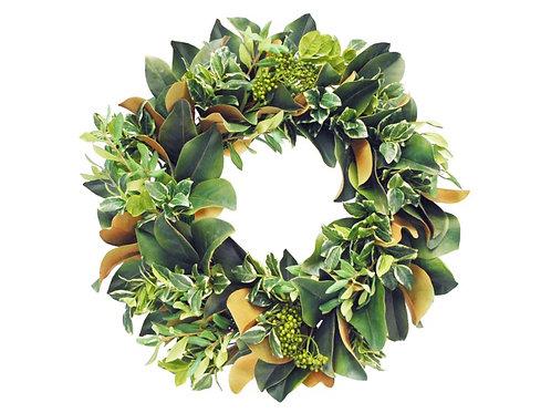 """Pittspotorium/Mag Leaf Wreath 24"""""""