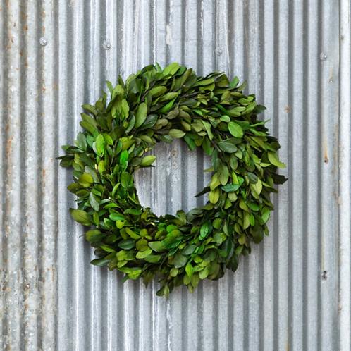 "Preserve Laurel Wreath 16""x3"""