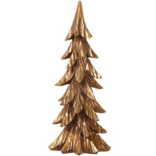 "Tree 15"", Gold"