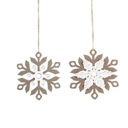 "Snowflake Ornament 6"""