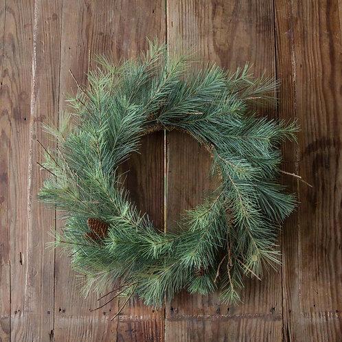 "Adirondack Pine Wreath 24"""