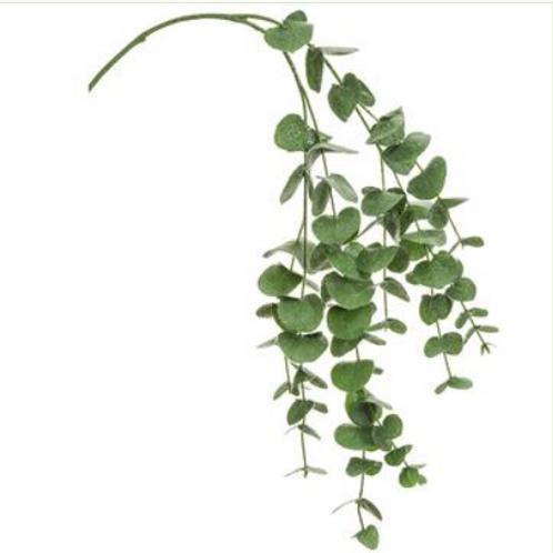 """Iced Eucalyptus Leaf Spray 40"""""""