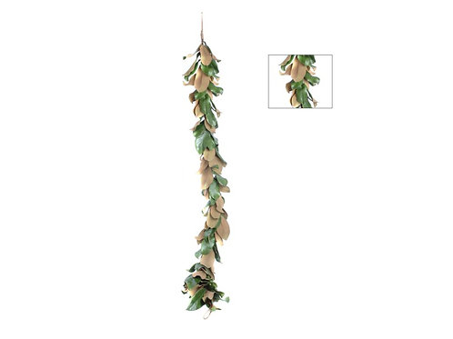 Magnolia Leaves Garland 80""