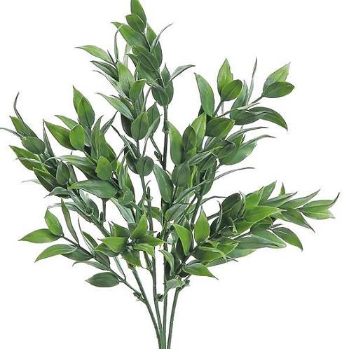 """Tea Leaf Bush 12.5"""" UV/FR GR"""