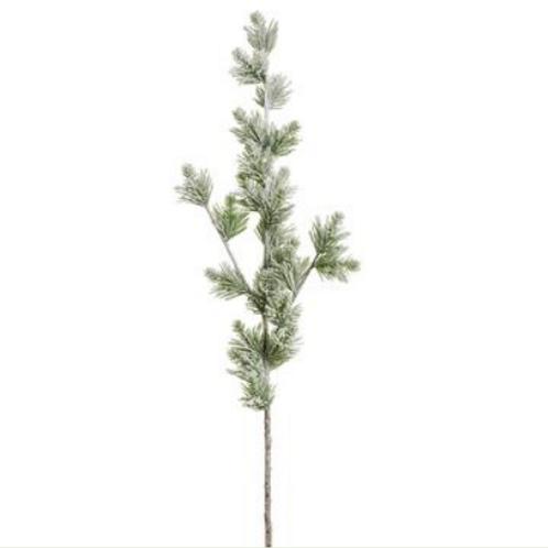 """Snowed Pine Spray 35"""""""