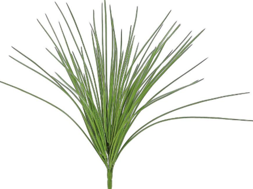 "Wild Grass Bush 20.25"" UV/FR GR"