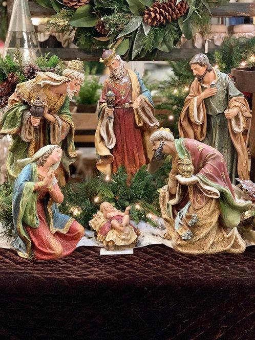 """Nativity Scene S/6 24""""H"""