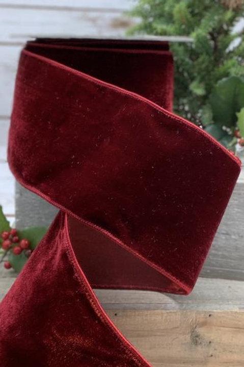 """Lush Velvet Ruby 4""""x10YDS"""