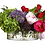 "Thumbnail: Rose Hydrangea/Peony in Glass Vase 14""H"