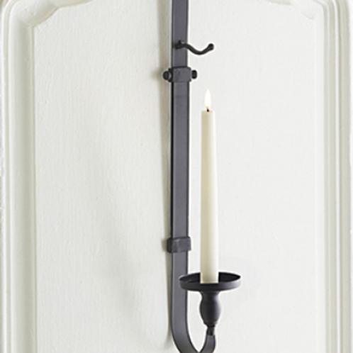 """Adjustable Over-Door Wreath Hanger w/ Candle Holder 30.5"""""""