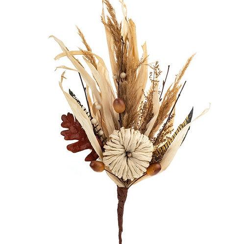 "Dried Autumn Pick 15.75"""