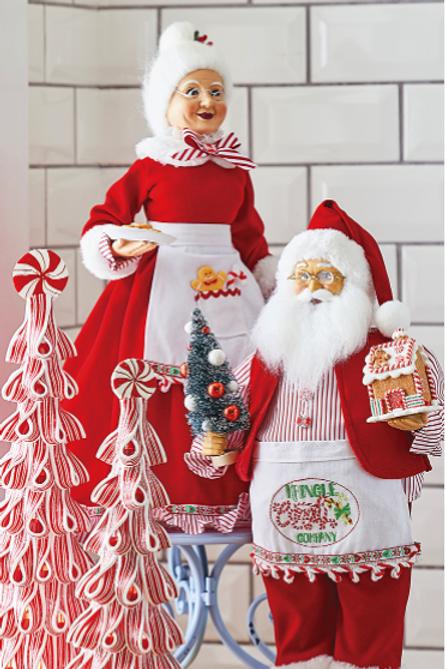 """Kringle Candy Co Santa w/ Apron 19"""""""