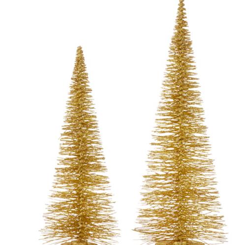 Bottle Brush Tree Gold Small