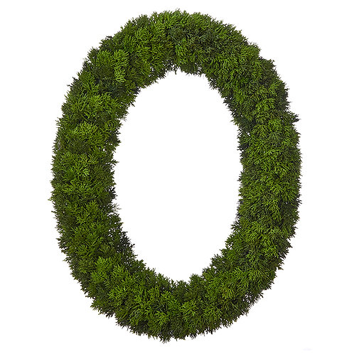 "Cedar Wreath 30"""