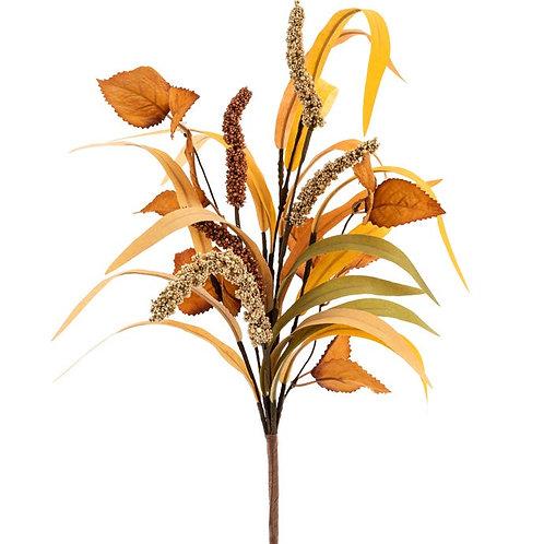 """Fall Foliage Pick Bleached 15"""""""