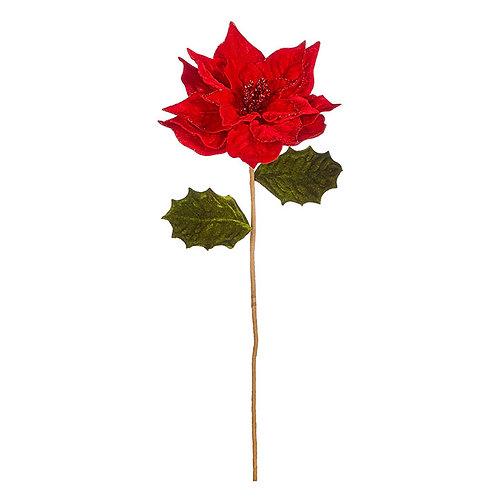 """Poinsettia Stem 23"""""""