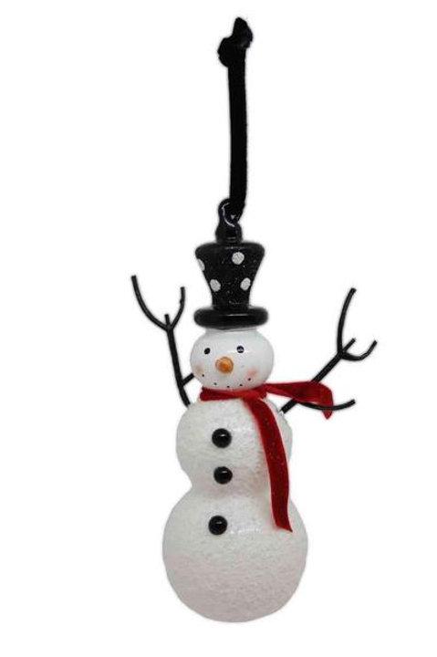 "Snowman Ornament 7"""