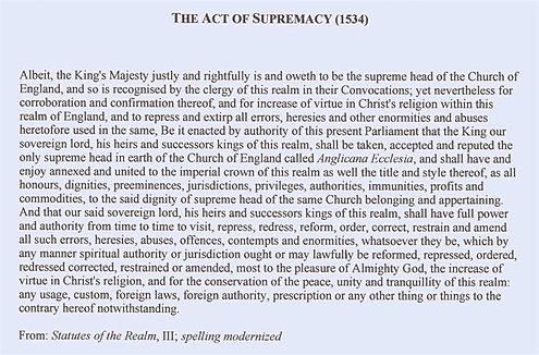 act of supremacy Definitions of act of supremacy 1558, synonyms, antonyms, derivatives of act of supremacy 1558, analogical dictionary of act of supremacy 1558 (english).