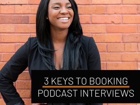 3 easy steps to booking your first podcast interview