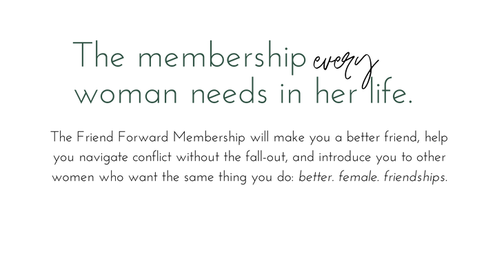 The membership every woman needs in her