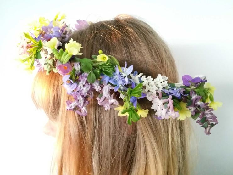 Frühlings-Blütenkranz