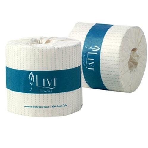 LIVI 2PLY T/ROLL1001 400 sheets, 48rolls/ctn