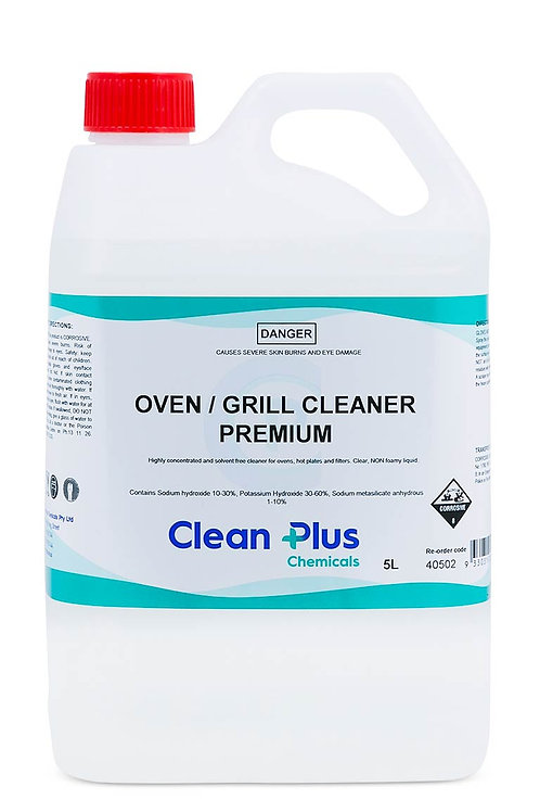 CLEANPLUS OVEN/GRILL CLEANER 5LTR  PREMIUM