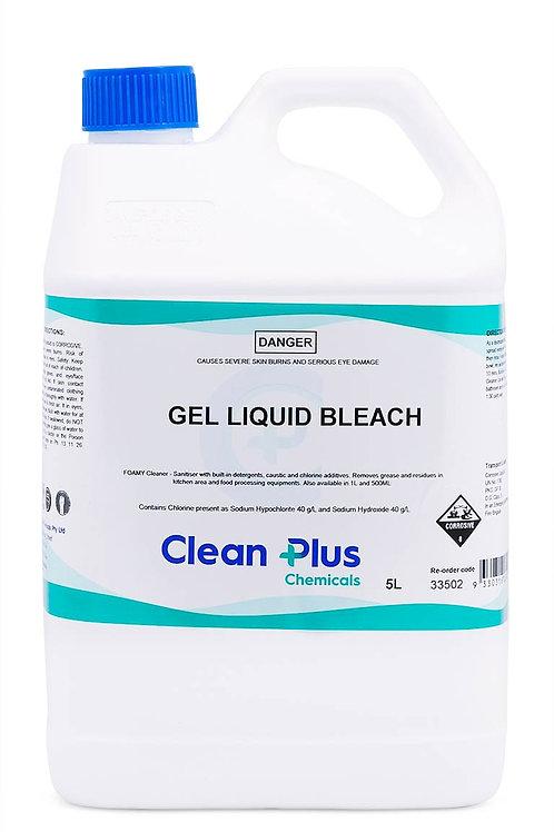 CLEANPLUS GEL LIQUID BLEACH 5LTR