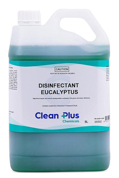 CLEANPLUS DISINFECTANT EUCALYPTUS  5LTR