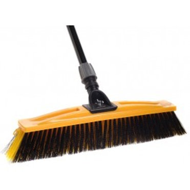 BULLDOZER SMOOTH-ROUGH SURFACES BROOM 450mm