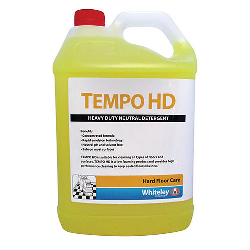 WHITELEY TEMPO HD NEUTRAL DETERGENT 5LTR