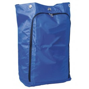 OATES JANITOR TROLLEY BLUE  ZIP BAG