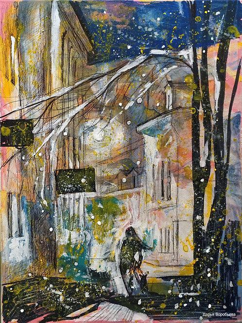 Вечерняя улочка Калугe