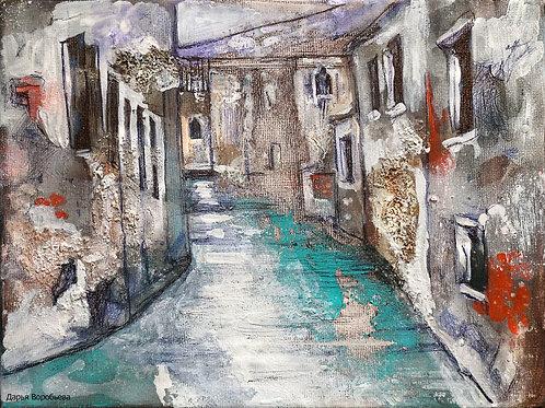 Очарование Венеции. 18*24, холст