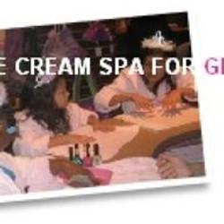 Ice Cream Spa Day