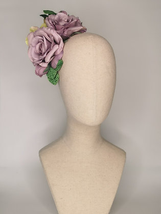 John Rawlings for VOGUE inspired piece with Lilac rose