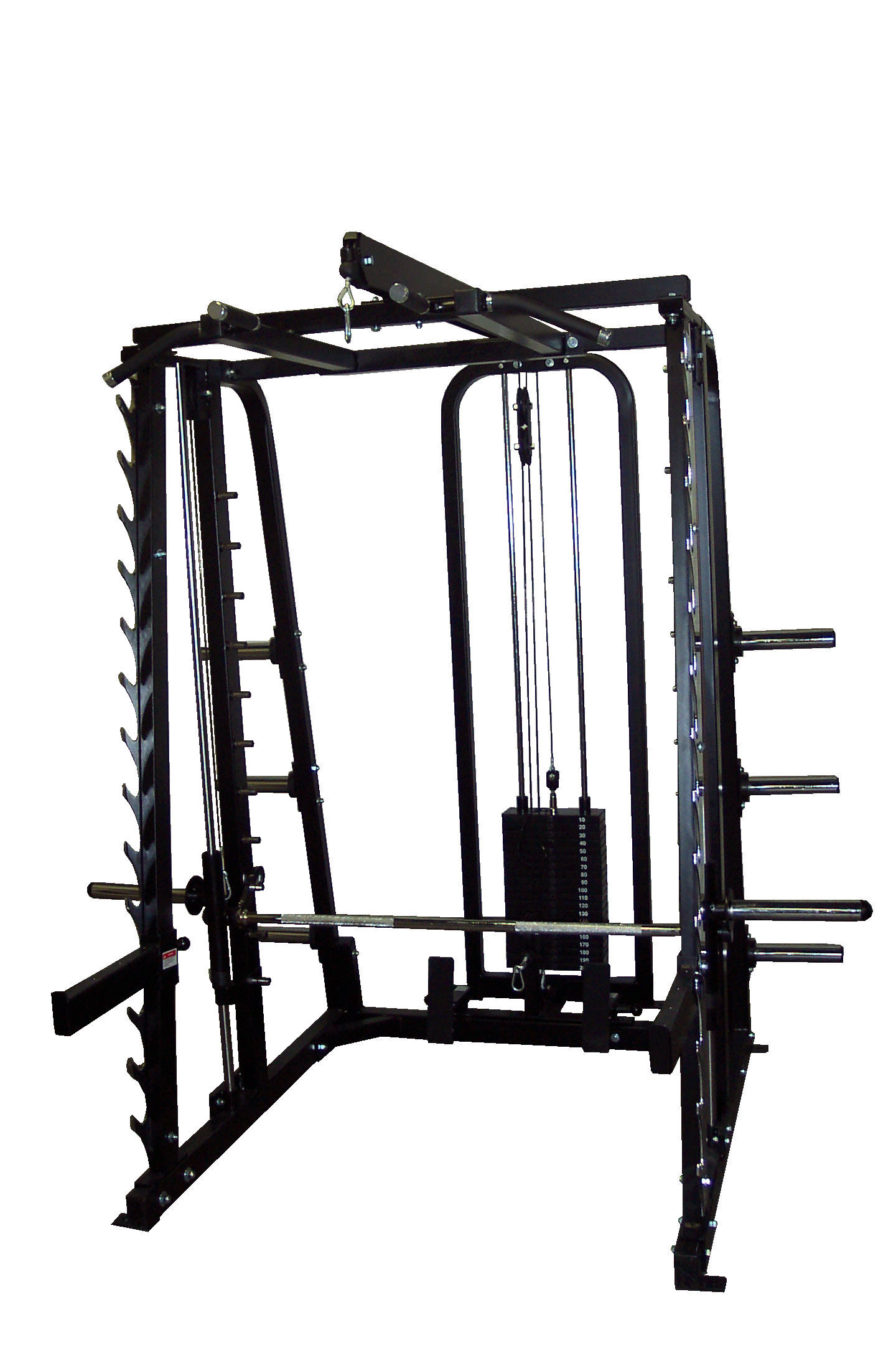 MAX#CSM3 Smith Cage with Hi-Low Row