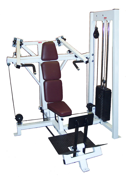 MAX#CSS5 Shoulder Press (converging)