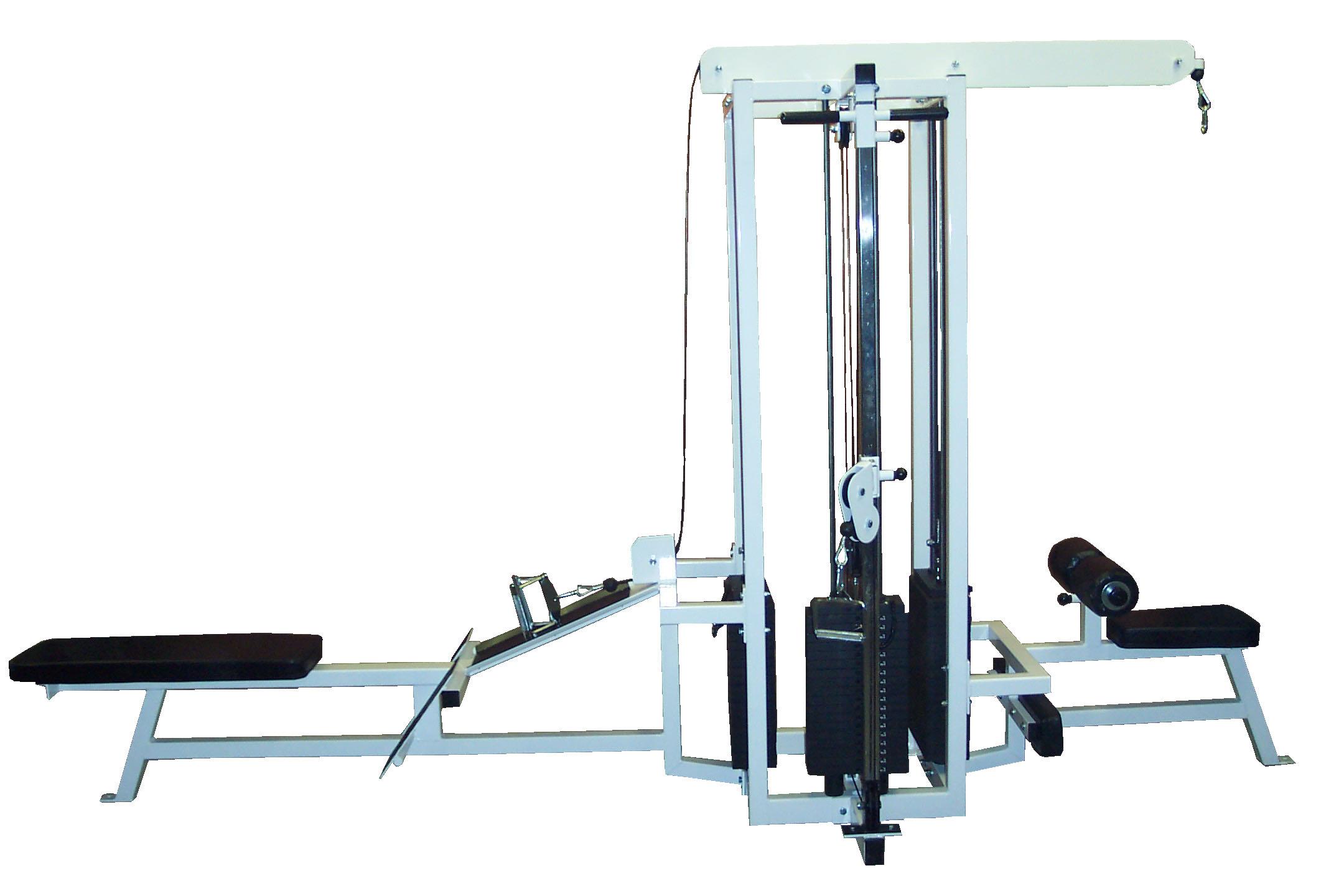 MAX#HG1 3-Station Gym (3 Stacks)