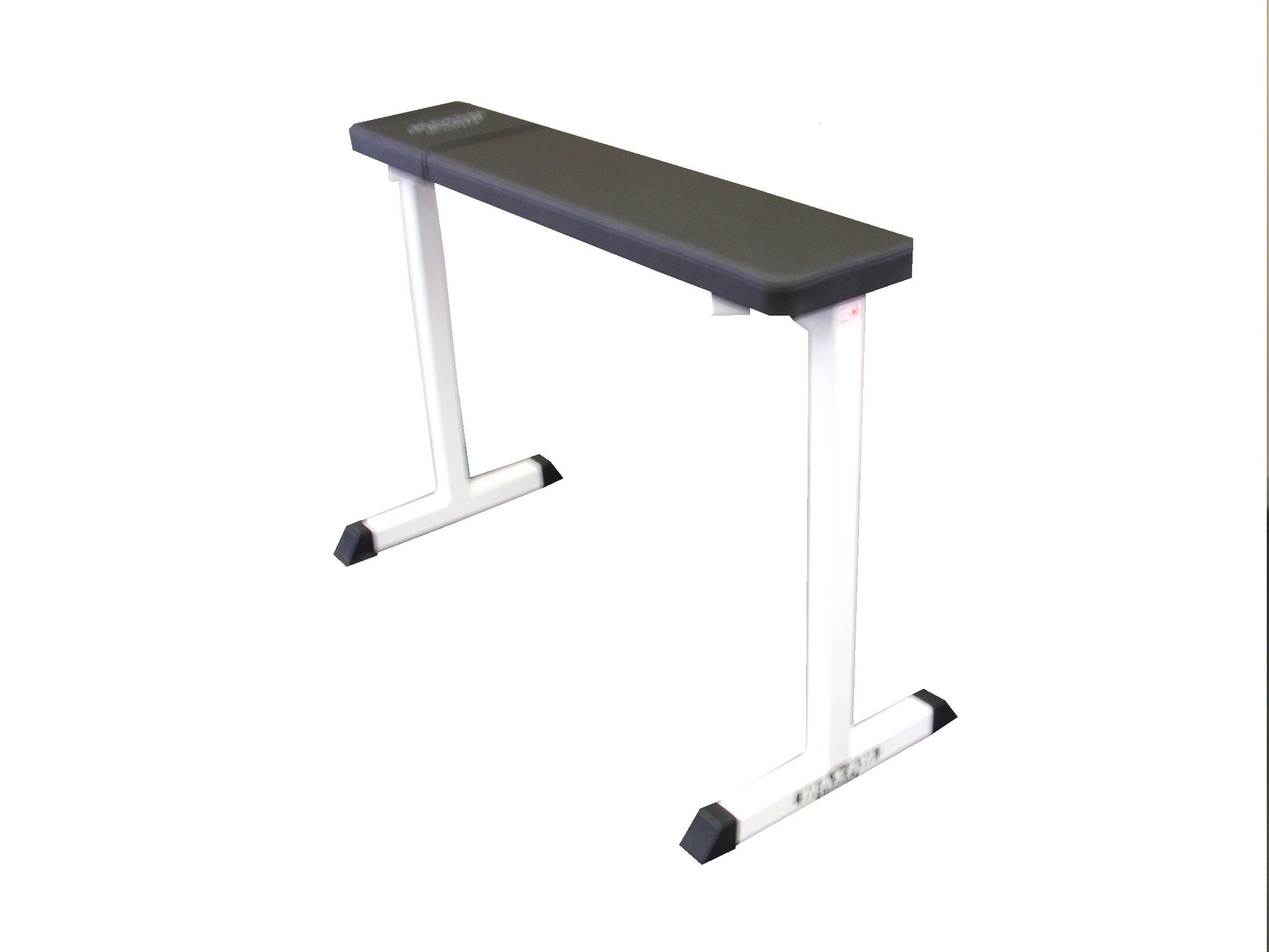 MAX#HB2 Elevated Flat Bench