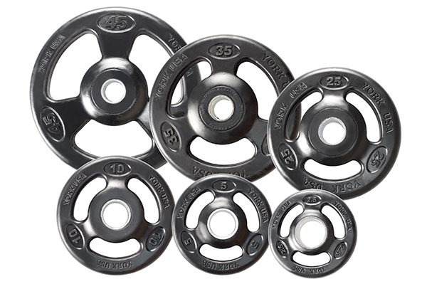 ISO-GRIP RUBBER OLYMPIC PLATE