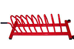 MAX#937 RUBBER 9-PLATE RACK