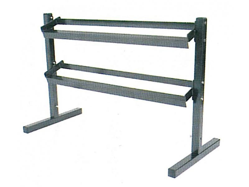 2 TEIR DUMBBELL RACK
