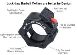 Lock-Jaw Collars