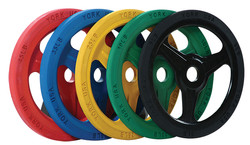 PRO OLYMPIC TRAINING BUMPER PLATES