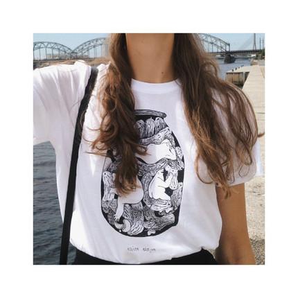 "T-shirt ""Gurķošanās"" (Cucumbering time)"