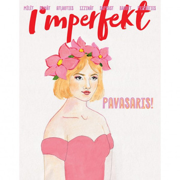 "Cover for ""Imperfekt"" magazine spring edition"