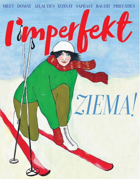 "Cover for ""Imperfekt"" magazine winter edition"